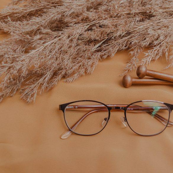 black framed eyeglasses close-up photography